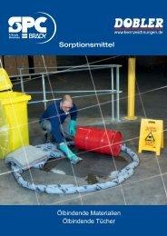Katalog Ölbindende Tücher - Dobler GmbH Dobler GmbH