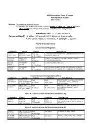 Prof . G. Di Giandomenico Componenti proff: A. Villani , M. Iacovelli ...