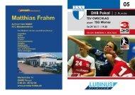 DHB Pokal | 2. Runde - TSV Owschlag