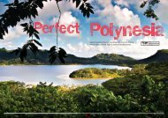 Island hopping in French Polynesia with a friend, Andrew Harris ...