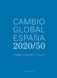 Cambio climático y salud - SESA