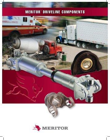 MERITOR® DRIVELINE COMPONENTS - CBS Parts Ltd.