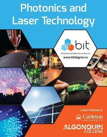 Photonics and Laser Technology - Carleton University