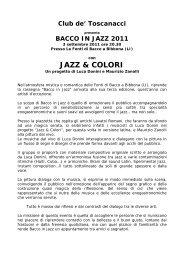 JAZZ & COLORI - Agriturismo e bed and breakfast in Italia