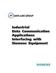 Interfacing with Siemens - Data-Linc Group