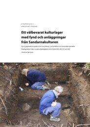 UV Rapport 2012:11. Arkeologisk utredning. Ett ... - arkeologiuv.se