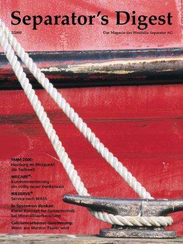 Separator's Digest - GEA Niro Soavi