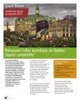 Volume 4, numéro 1 - Tourisme Québec - Gouvernement du Québec - Page 4