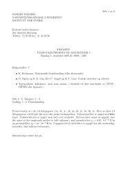 Side 1 av 6 NORGES TEKNISK- NATURVITENSKAPELIGE ... - NTNU