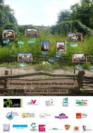 Printemps des cités-jardins d'ile-de-France - Ville de Stains