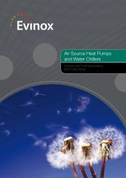 Air Source Heat Pump Brochure - Evinox