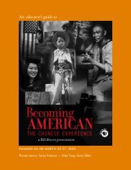 Becoming American: The Chinese Experience - PBS