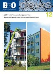 B&O – die Verwandlungskünstler. - B&O - Lösungen für die ...