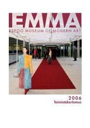 Toimintakertomus 2006 (pdf) - Emma