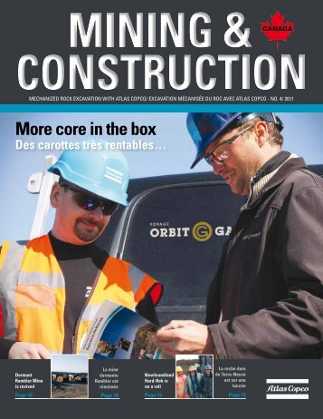 More core in the box - Atlas Copco
