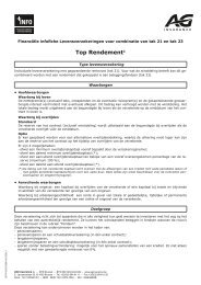 Top Rendement - AG Insurance