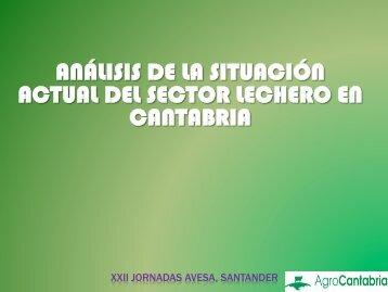 análisis de la situación actual del sector lechero en cantabria
