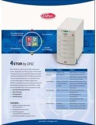 4STOR datasheet - Unylogix Technologies Inc.