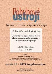 PÚ_1+2/2013 Supplementum - Společnost pro pojivové tkáně