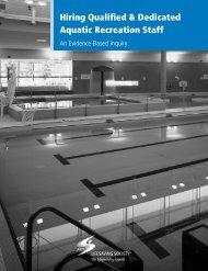 Hiring Qualified & Dedicated Aquatic Recreation ... - Lifesaving Society