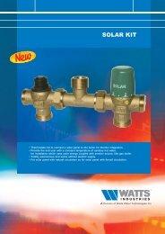 D Kit solar Gb - Watts Industries