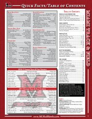 m ia m i tr a c k & field Quick Facts/Table of Contents - Community