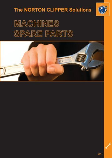 Machines Spare Parts - Norton Construction Products