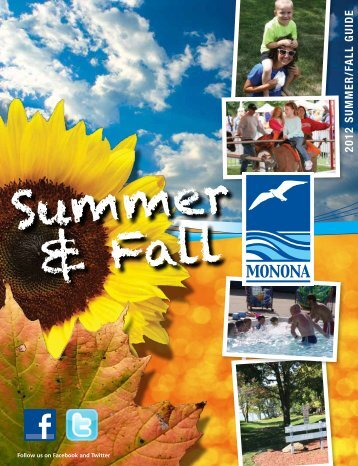 2012 summer/Fall Guide - City of Monona