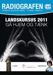 Radiografen 01, februar 2011, årgang 39 - Foreningen af ...