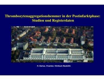 Clopidogrel - Berliner Herzinfarktregister