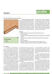 Pavatex ISOLAIR L - scheda tecnica - Naturalia Bau