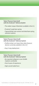 Talent® Endovascular Stent Grafts - Page 3
