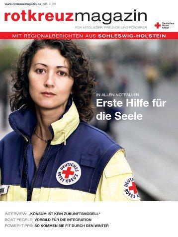 Ausgabe 4 / 2009 - Deutsches Rotes Kreuz