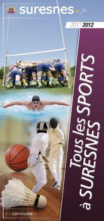 Tous les sports à Suresnes - Année 2011/2012 (pdf - 762,15 ko)