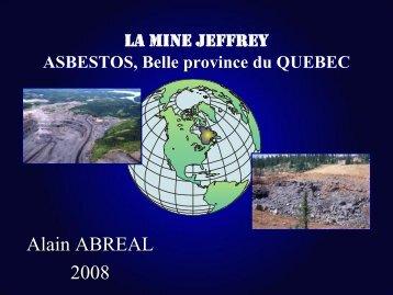 Mine Jeffrey, Québec, Part 3 - Page perso minéraux Alain ABREAL ...