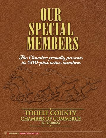 business & visitor's guide - Tooele County Chamber of Commerce