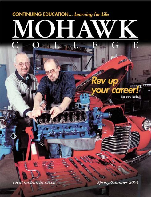 Mohawk College Spring Summer 2003 Continuing Education