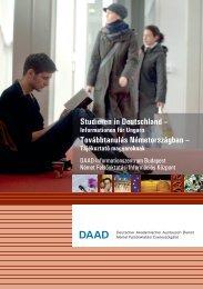 Studieren in Deutschland - DAAD-Informationszentrum Budapest