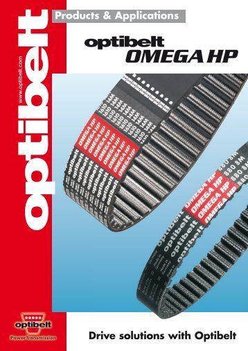 OMEGA HP - Blažek Power Transmission