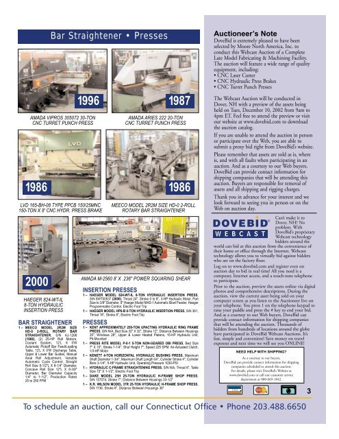 Moore Brochure