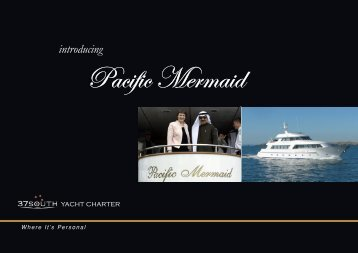 View brochure - 37South Yacht Charter