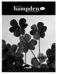 March 2011 (pdf) - Hampden Community Council