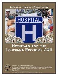 Hospitals and the Louisiana Economy, 2011 - Louisiana Budget ...