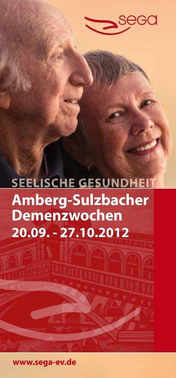 Amberg-Sulzbacher Demenzwochen - Diakonisches Werk Sulzbach ...
