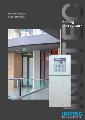 Katalog CPS 220/48.1 - INOTEC Sicherheitstechnik GmbH