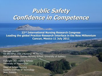 Public Safety Confidence in Competence - IUPUI
