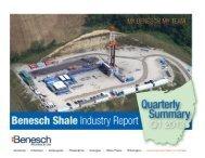 Benesch Shale Industry Study Q1 - 2013