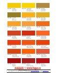 RAL Farbtonkarte / Carte de Teintes / Colour Card - Page 2