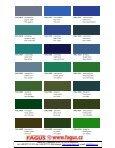 RAL Farbtonkarte / Carte de Teintes / Colour Card - Page 5