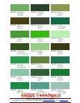 RAL Farbtonkarte / Carte de Teintes / Colour Card - Page 6